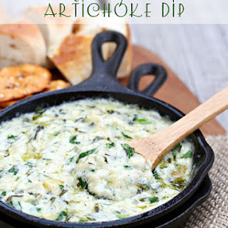 Skillet Spinach Artichoke Dip