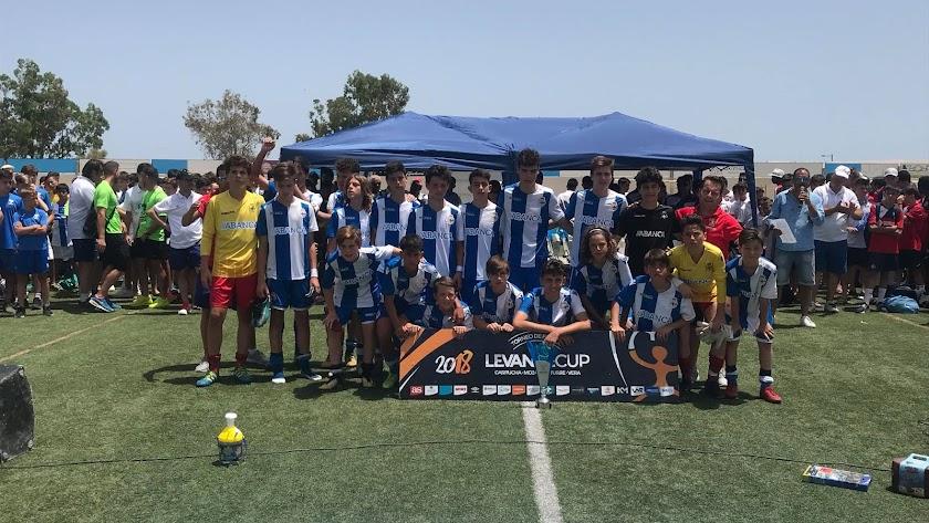 El mejor fútbol base se da cita en el Levante de nuevo. Foto de archivo.