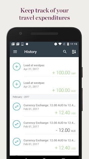 Westpac Global Currency Card  screenshots 3