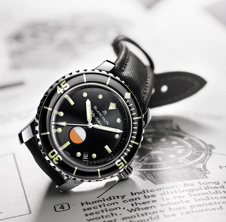 The Blancpain Tribute Fifty Fathoms MIL-SPEC
