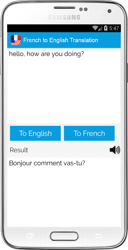 dictionary english to french translation for sentences