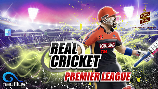 Real Cricket™ Premier League v1.1.2 MOD APK 1