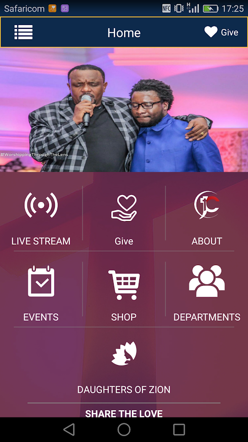JUBILEE CHRISTIAN CHURCH- screenshot