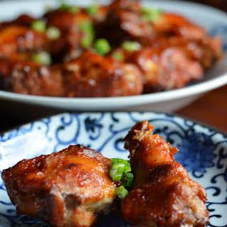 Korean-Style Spicy Wings.