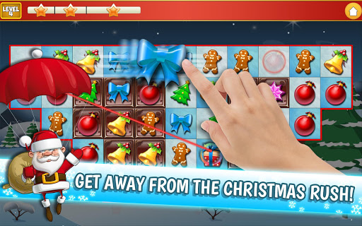 Christmas Crush Holiday Swapper Candy Match 3 Game 1.35 screenshots 9