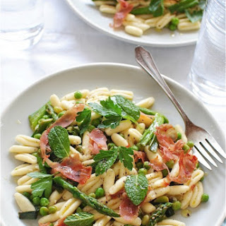Cavatelli Pasta with Spring Vegetables
