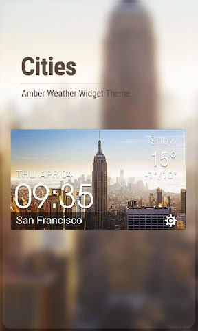 android World Travel Weather Free Wid Screenshot 0