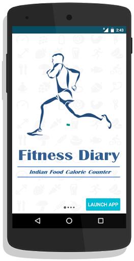 Fitness Diary screenshot 1