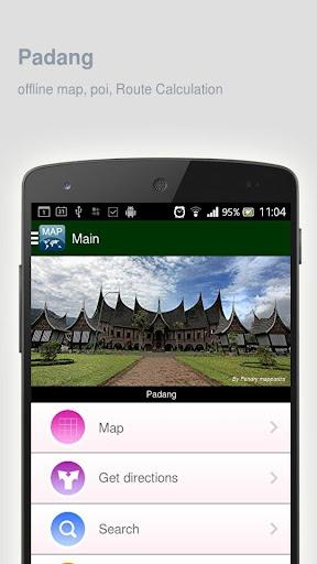 Padang Map offline