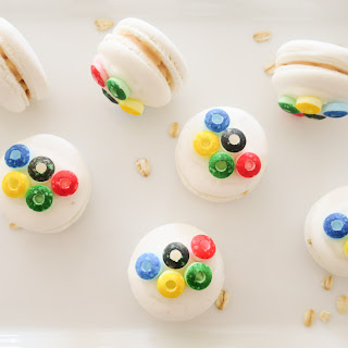 Olympic Games Inspired Macarons