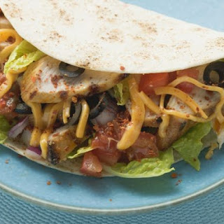 Cheesy Tacos with Chicken
