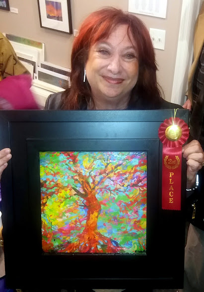 Second Place winner Sherry Salant