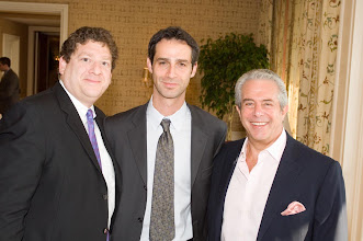 Photo: Fredrick Levin, Consul General Dayan, and Michael Solomon