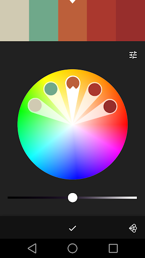 Adobe Color CC screenshot 2