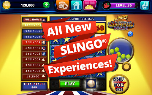 Slingo Arcade: Bingo Slots Game modavailable screenshots 13