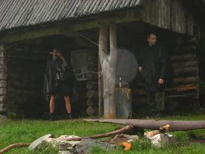 Photo: Rzęsista ulewa nie daje za wygraną. Nieustannie kroczy za nami niczym smród za skunksem.
