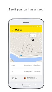 Sverigetaxi- screenshot thumbnail