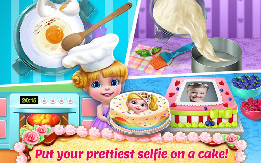 Real Cake Maker 3D - Bake, Design & Decorate 1.7.1 screenshots 2