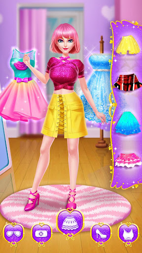 ud83cudfebud83dudc84School Date Makeup - Girl Dress Up  screenshots 24