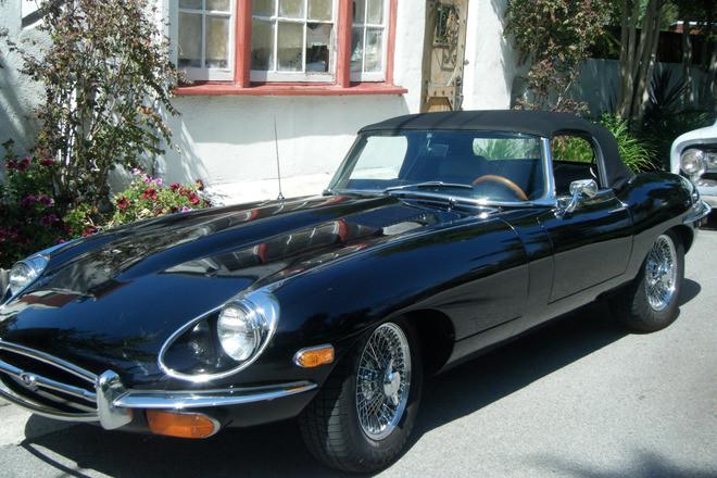 1969 Jaguar E-Type Roadster Hire CA