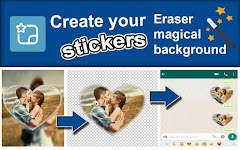 screenshot of Create stickers for WhatsApp - StickerFactory