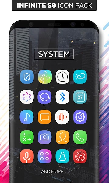 Infinite S8 Icon Pack v1.2.4 [Patched]