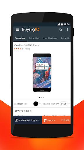Comparison Shopping - BuyingIQ screenshot 2