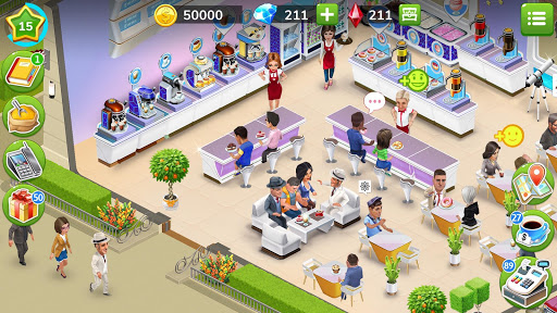 My Cafe u2014 Restaurant game apkdebit screenshots 6