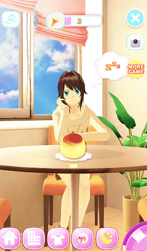 Talking Girl Friend apklade screenshots 1