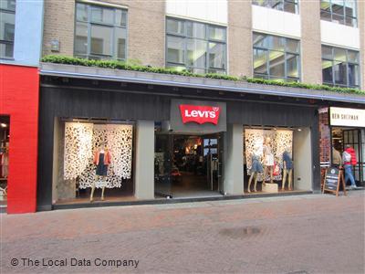89ee73c6 Levi's Store on Carnaby Street - Fashion Shops in Soho, London W1F 9QB