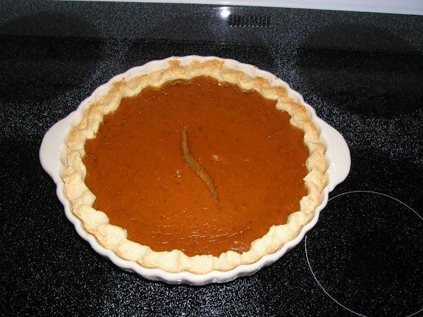 Pumpkin Eggnog Pie Recipe