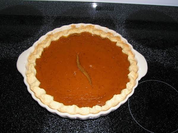 Pumpkin Eggnog Pie Recipe