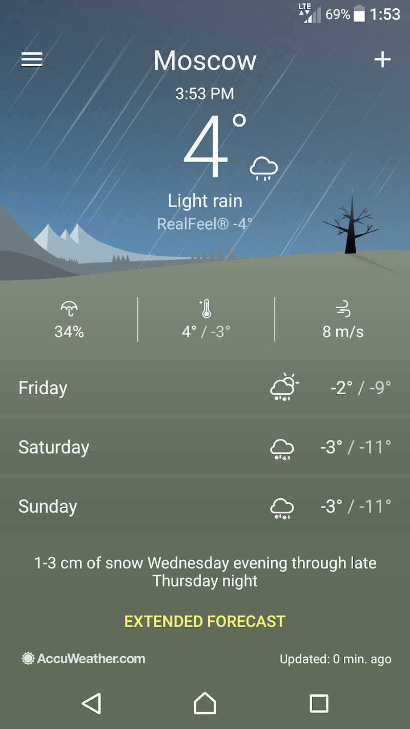 Weather Screenshot 4