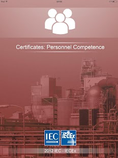 IECEx Personnel Certificates- screenshot thumbnail