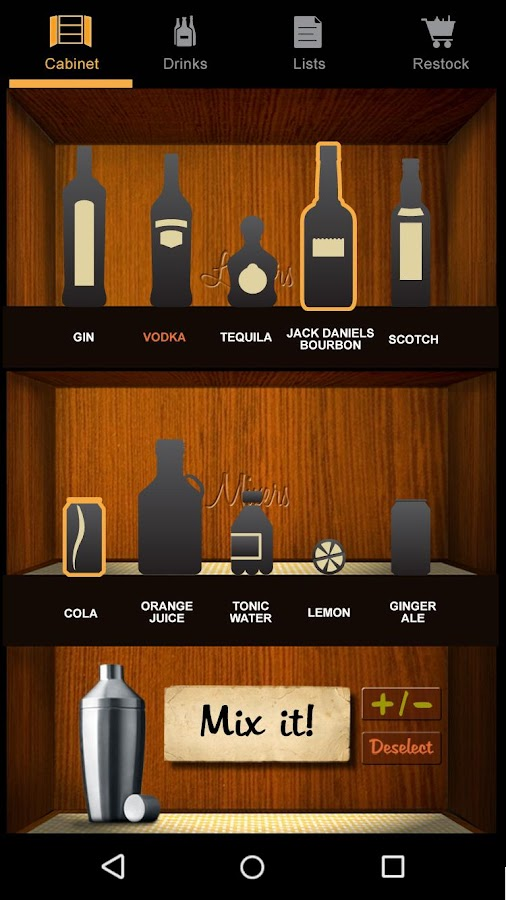 Liquor Cabinet- screenshot