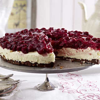 Cherry and Chocolate Cream Tart
