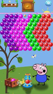 Pig Pop - Pepa pig black, Pop Bubble Game - náhled