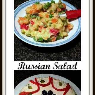 Russian Salad or salata de boeuf