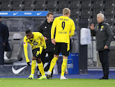 In de wedstrijd tegen Frankfurt werd al meteen duidelijk dat de blessure van Haaland moeilijk op te vangen is