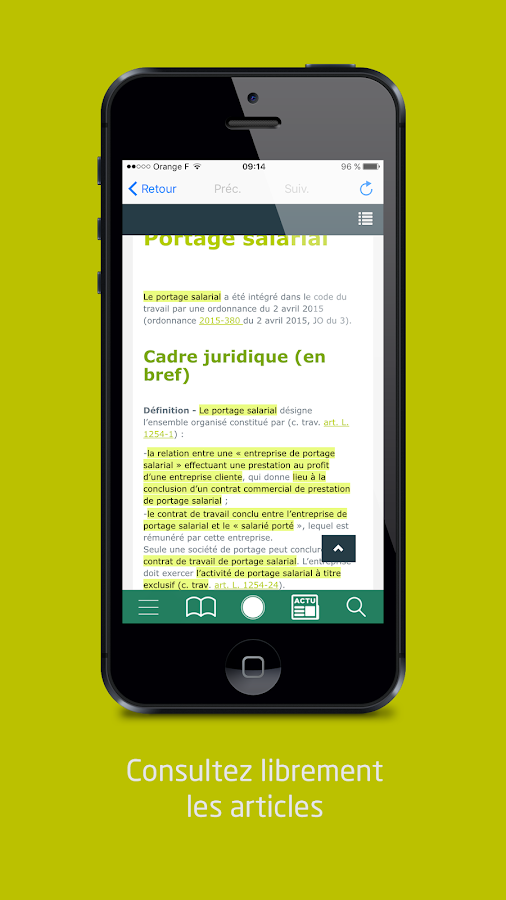 GRF + – Capture d'écran