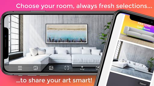 Artrooms - Superimpose Art on Walls Insitu  screenshots 1