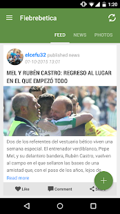 Fiebrebetica Real Betis Fans- screenshot thumbnail