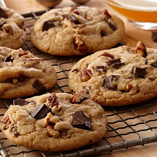 Browned Butter Chocolate Chunk Cookies.