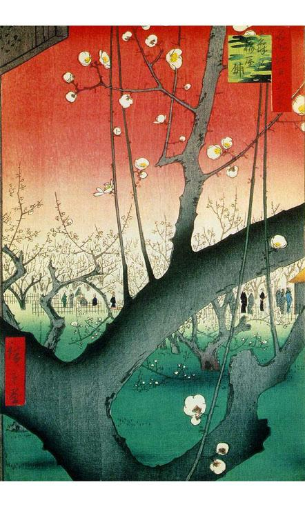 浮世絵ライブ壁紙(タテ版)のおすすめ画像1