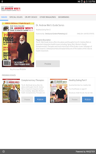 Dr. Andrew Weil's Guide Series