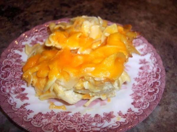 Elaine's Cheesy Noodle Bake Recipe