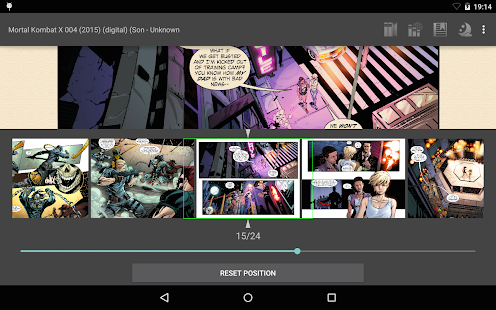 FBReader ComicBook plugin- screenshot thumbnail