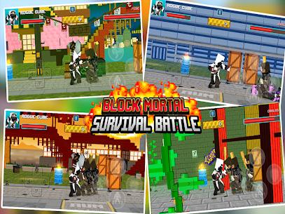 Block Mortal Survival Battle 10