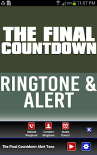 The final countdown (ringtone) youtube.