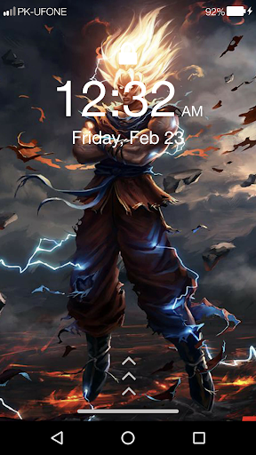 About Goku Anime Super Hd Lock Screen